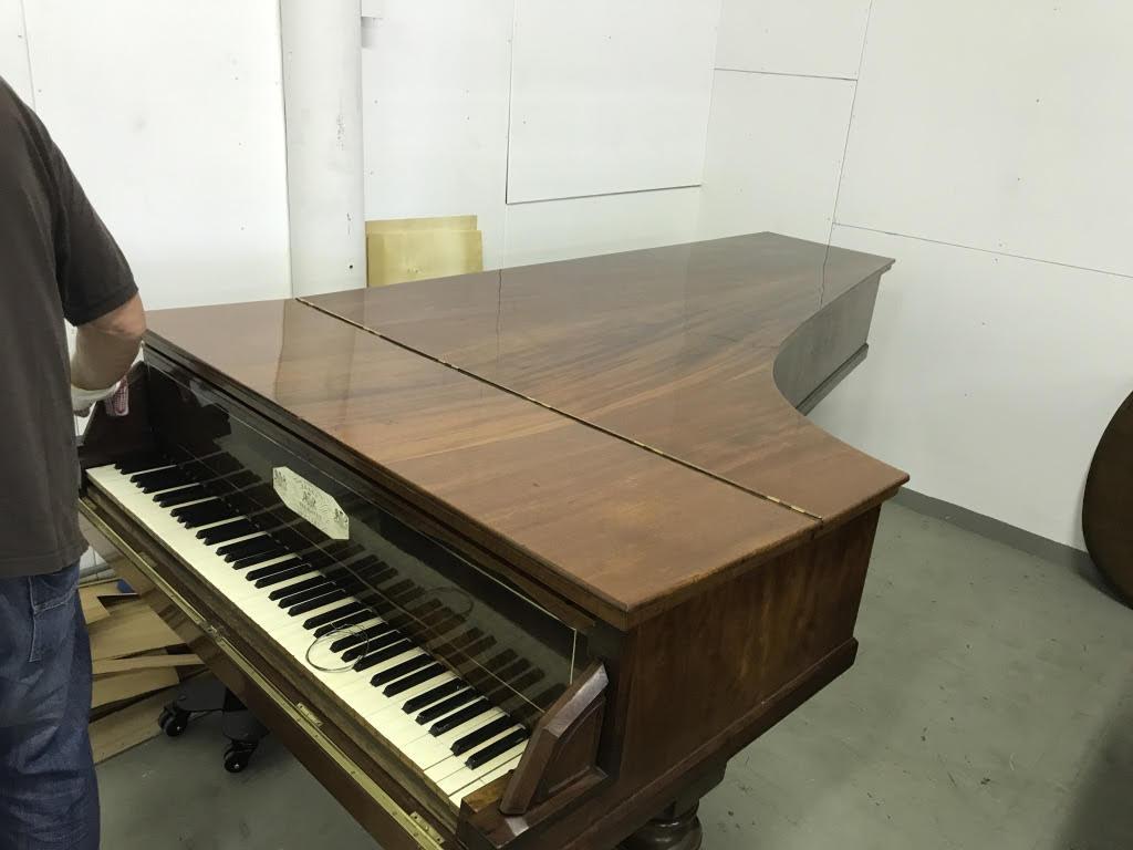 Erard London Concert grand piano year 1841 Museum Quality